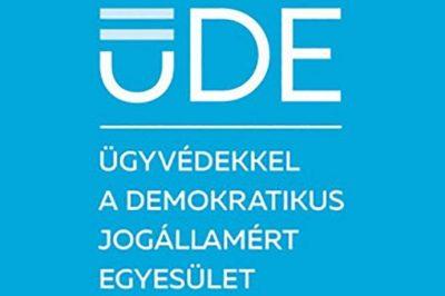 Elnökségi tisztújítást tartott a jogállamiságot monitorozó hazai ügyvédi egyesület, az ÜDE