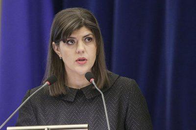 """""""Az ajtó továbbra is nyitva áll"""" azon tagállamok - köztük Magyarország - számára, amelyek eddig nem csatlakoztak az Európai Ügyészséghez - mondta Budapesten egy civil fórumon Laura Codruta-Kövesi európai főügyész"""