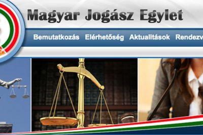 Ügyvédek kötelező továbbképzését segíti a Magyar Jogász Egylet