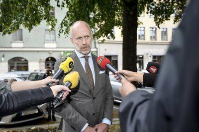 Rálőttek egy svéd ügyvédre