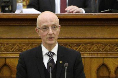 A bírói függetlenség ma sem jelent kevesebbet, mint 152 éve – mondta a Kúria elnöke az Országgyűlésnek tartott beszámolójában
