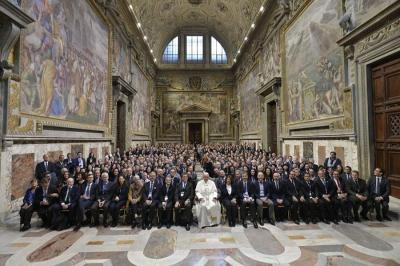 Ferenc pápa a büntetőjogra leselkedő veszélyekről (videoval)