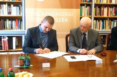 Oktatás, képzés területén együttműködés a Zalaegerszegi Törvényszék és a megyei ügyvédi kamara között