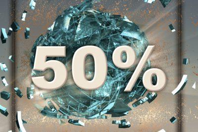 A veszteségleírás ötven százalékos korlátja