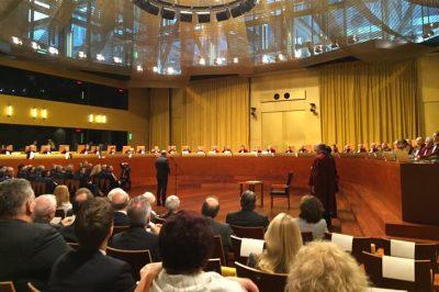 EU- A Törvényszék új bírái hivatalba léptek