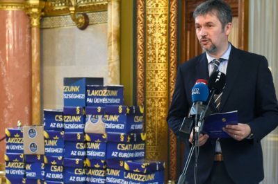 Az uniós ügyészséghez csatlakozás érdekében 680 ezer aláírás gyűlt össze - Dr. Polt Péter: nemzeti szuverenitásunkat veszélyeztetné