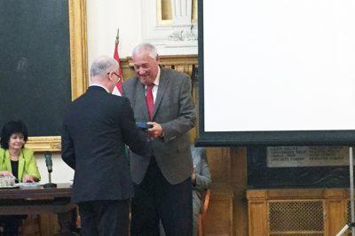 Szalay-emlékérmet kapott a Magyar Jogászegylettől dr. Havasi Dezső