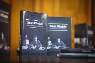 Az emlékezés a múltról, de a jövőnek szól -Kései főhajtás - A holokauszt jogászáldozatai