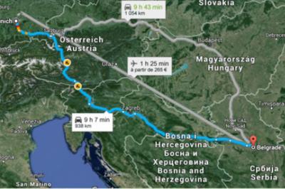 """""""Kerüld Magyarországot!"""" - Migránsoknak ajánlott új útvonaltervek Nyugat-Európába"""