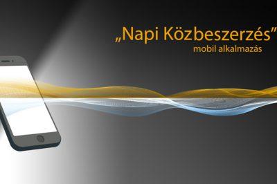 """ """"Napi közbeszerzés"""" mobil alkalmazáson a GVH tippjei  - Versenykultúra fejlesztés a kartellekkel kapcsolatosan"""