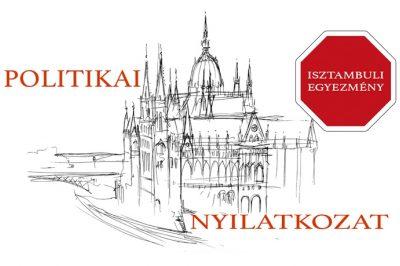 Politikai nyilatkozatban utasították el az isztambuli egyezményhez való csatlakozást
