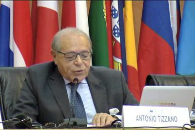 Antonio Tizzanót választották az Európai Unió Bíróságának elnökhelyettesévé