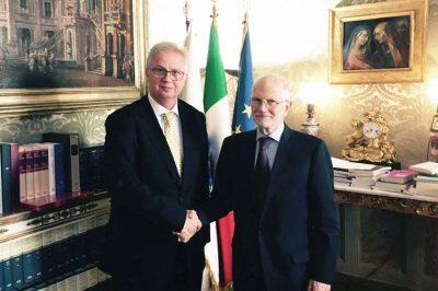 A közigazgatási perrendtartásról tárgyalt dr. Trócsányi László Rómában