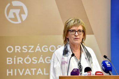 Jól teljesít a magyar bírói szervezet - dr. Handó Tünde értékelése