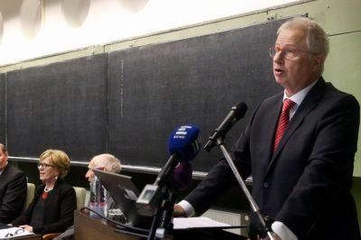 Az igazságügyi miniszter a jogászok megbecsüléséről beszélt, az OBH elnöke a bírói függetlenséget definiálta Miskolcon