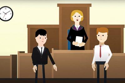 Animációs kisfilm a bírósági eljárás során felmerülő költségekről