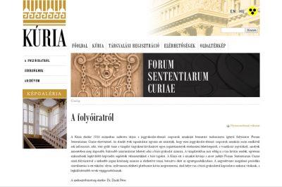 Kúriai joggyakorlat elemzések - hasznos forrás az ügyvédi munkához is