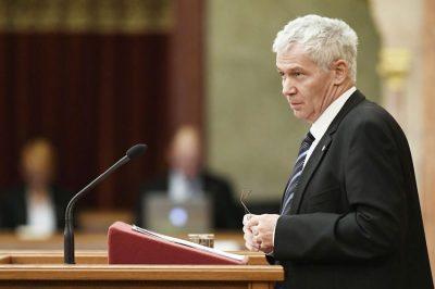 A törvények tisztelete jellemezte az ügyészség működését - értékelte éves munkáját dr. Polt Péter, az ellenzék másként látja