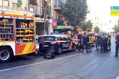 Három holttestet találtak egy ügyvédi irodában - Madridban (video a helyszínről)
