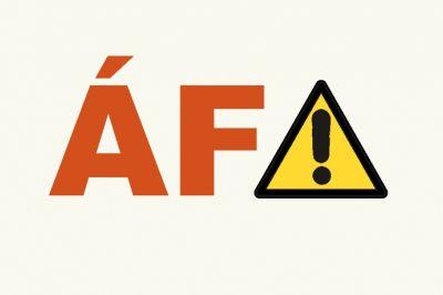 KORONAVÍRUS - Óvatosan az áfával  – Vannak buktatók a kialakult helyzetben