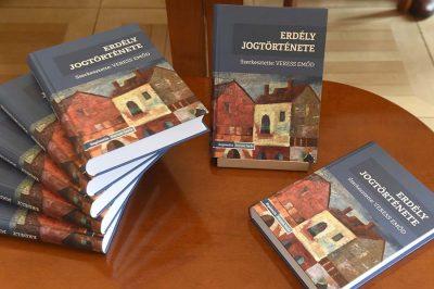 Erdély jogtörténete a magyar identitás része